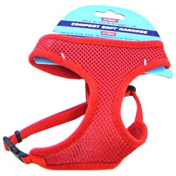 Coastal Pet Comfort Soft Harness - Red Image