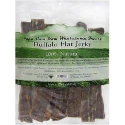 Papa Bow Wow Buffalo Flat Jerky Dog Treats Image