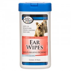 Four Paws Ear Wipes Image