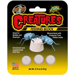 Zoo Med Creatures Feeding Block Image