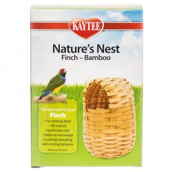 Kaytee Nature's Nest Finch - Bamboo Nest Image