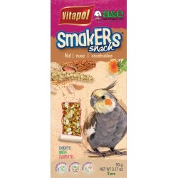 A&E Cage Company Smakers Cockatiel Nut Treat Sticks Image