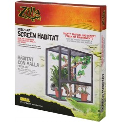 Zilla Fresh Air Screen Habitat for Reptiles Image