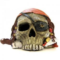 Pirate Skull Ornament Image
