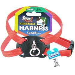 Coastal Pet Size Right Nylon Adjustable Pet Harness - Red Image