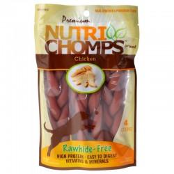 Premium Nutri Chomps Chicken Flavor Braids Image