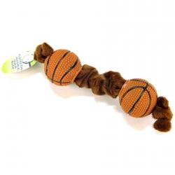 Lil Pals Plush Toys & Tugs - Basketball Tug Toy Image