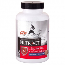 Nutri-Vet Hip & Joint Chewables for Dogs - Advanced Strength Image