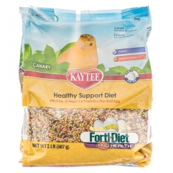 Kaytee Forti-Diet Pro Health Egg-Cite! Healthy Support Diet - Canary Image
