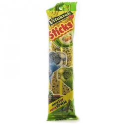 Vitakraft Parakeet Crunch Sticks - Egg & Honey Image
