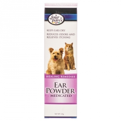 Four Paws Ear Powder Medicated Image