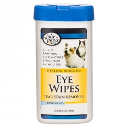 Four Paws Eye Wipes Tear Stain Remover Image