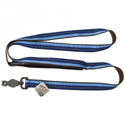 K9 Explorer Reflective Leash with Scissor Snap - Sapphire Image