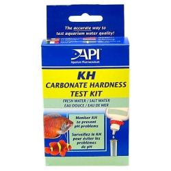 API KH Carbonate Hardness Test Kit for Fresh & Saltwater Aquariums Image