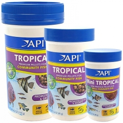 API Tropical Premium Pellets for Community Fish Image