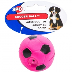 Spot Soccer Ball Latex Dog Toy Image