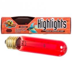 Zoo Med Aquatics Highlights Tubular Aquarium Lamp - Red Image