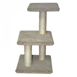 Classy Kitty 2-Tier Cat Tree with Lounger Image