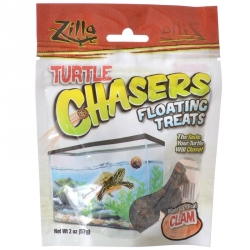 Zilla Turtle Chasers Floating Treats - Clam Image