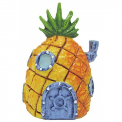Penn Plax SpongeBob Mini Pineapple Ornament Image