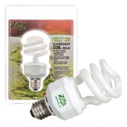 Zilla Tropical 25 Fluorescent Coil Bulb with UVB Image