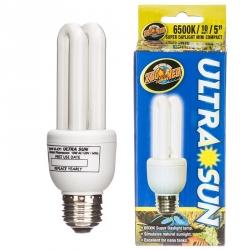 Zoo Med Ultra Sun 6500k Daylight Compact Fluorescent Bulb Image