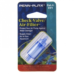 Penn Plax Check Valve & Air Filter Image