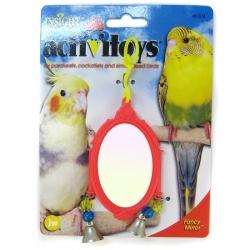 Fancy Mirror Bird Toy Image