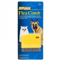 Four Paws Flea Comb for Cats & Dogs Image