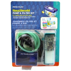 Penn Plax Smallworld Air Pump & Filter Kit Image