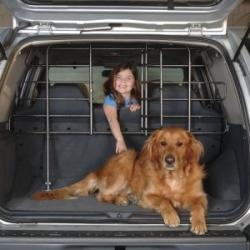 Precision Pet Vehicle Barrier With Door Image