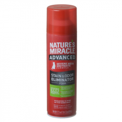 Natures Miracle Just for Cats Advanced Enzymatic Stain & Odor Eliminator Foam Image