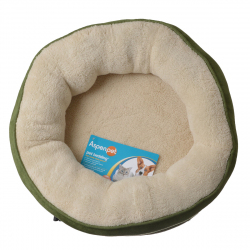 Aspen Pet Structured Round Pet Bed Image