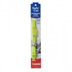 Coastal Pet Safe Cat Adjustable Nylon Breakaway Collar - Lime Green Image