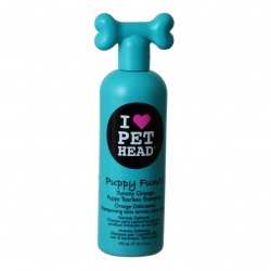 Pet Head Puppy Fun Puppy Tearless Shampoo - Yummy Orange Image