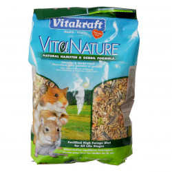 Vitakraft VitaNature Natural Hamster & Gerbil Food Image