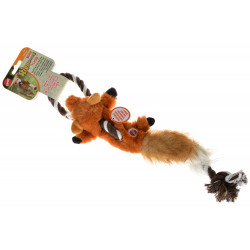 Spot Skinneeez Fox Tug Toy - Mini Image