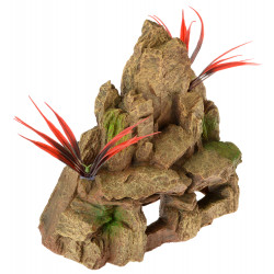 Exotic Environments Rock Cave Mountain Ornament Image
