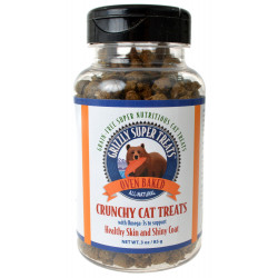 Grizzly Super Treats Crunchy Cat Treats with Omega-3 Image