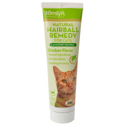 Tomlyn Laxatone Natural Hairball Remedy Gel for Cats - Chicken Flavor Image