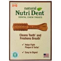 Nylabone Nutri Dent Natural Filet Mignon Dental Chew Treats - Large Image