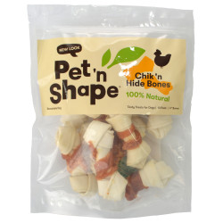 Pet 'n Shape Chicken Hide Bones Dog Treats Image