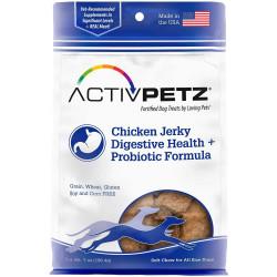 ActivPetz Chicken Jerky Digestive Health Probiotic Formula Image
