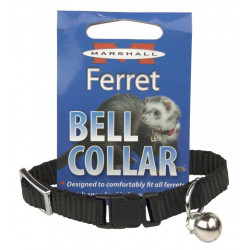 Marshall Ferret Bell Collar - Black Image