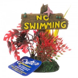 Exotic Environments No Swimming Sign Image