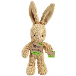 Spunky Pup Organic Cotton Bunny Dog Toy Image
