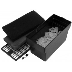 Beckett Submersible Filter Box with Bio Media Black Image
