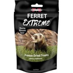 Marshall Ferret Extreme Munchy Minnows Freeze Dried Ferret Treat Image