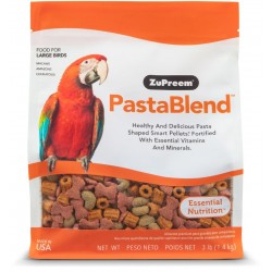 ZuPreem PastaBlend Pellet Bird Food for Larg Birds (Macaw and Cockatoo) Image