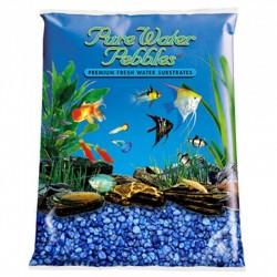 Pure Water Pebbles Aquarium Gravel - Marine Blue Image